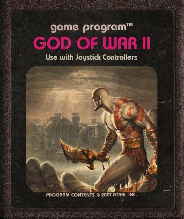 Jogos modernos em versões cartuchos de Atari  (15)