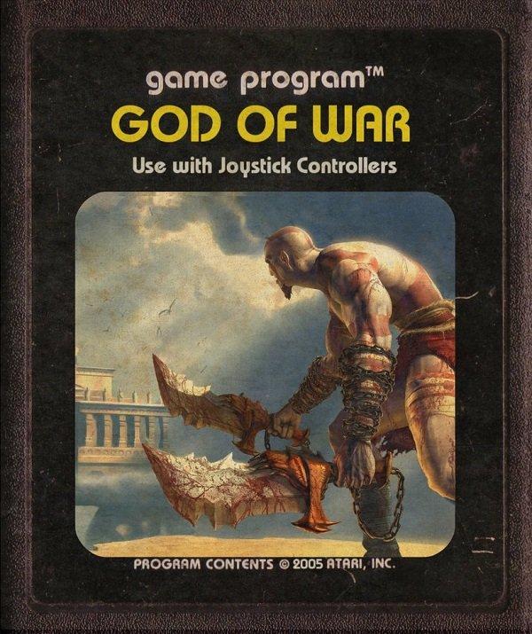 Jogos modernos em versões cartuchos de Atari  (16)