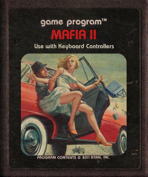 Jogos modernos em versões cartuchos de Atari  (23)