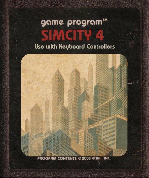 Jogos modernos em versões cartuchos de Atari  (31)