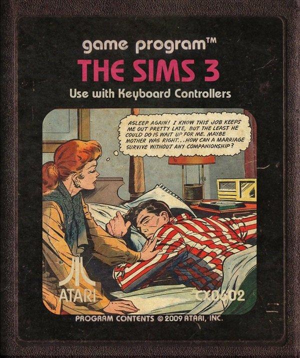 Jogos modernos em versões cartuchos de Atari  (35)
