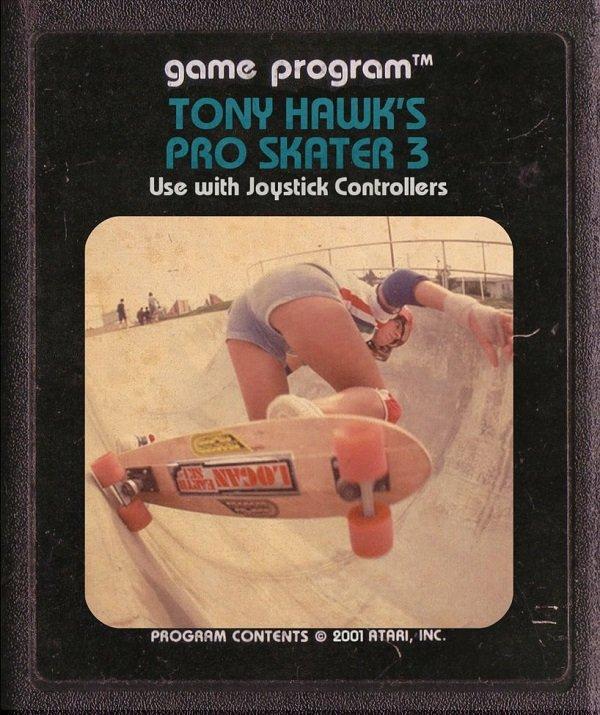 Jogos modernos em versões cartuchos de Atari  (37)