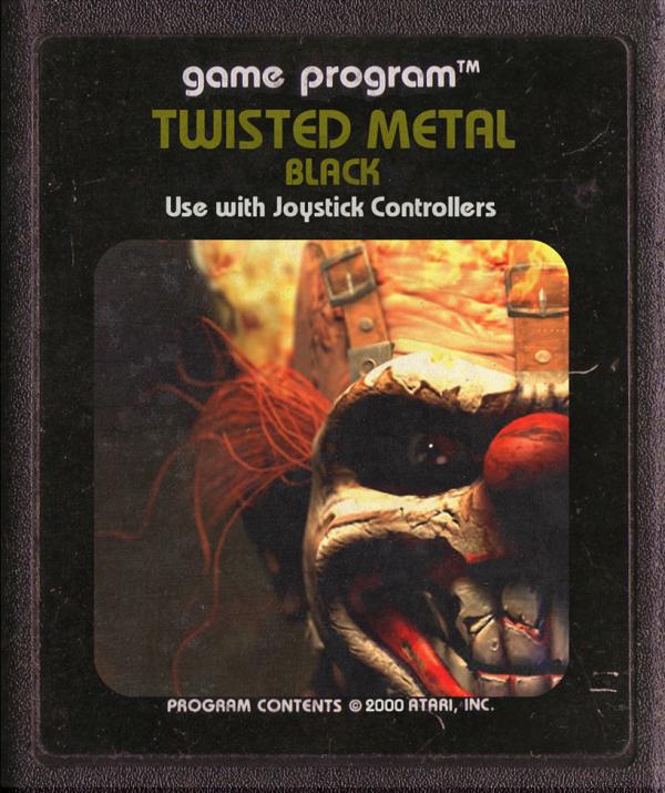 Jogos modernos em versões cartuchos de Atari  (39)
