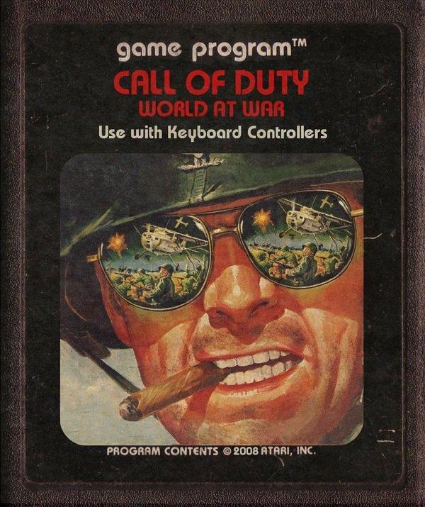 Jogos modernos em versões cartuchos de Atari  (6)