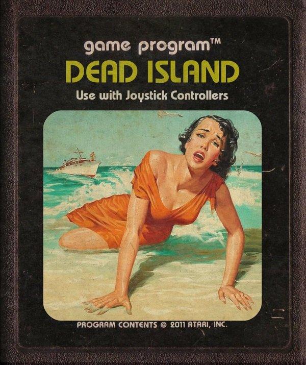 Jogos modernos em versões cartuchos de Atari  (7)