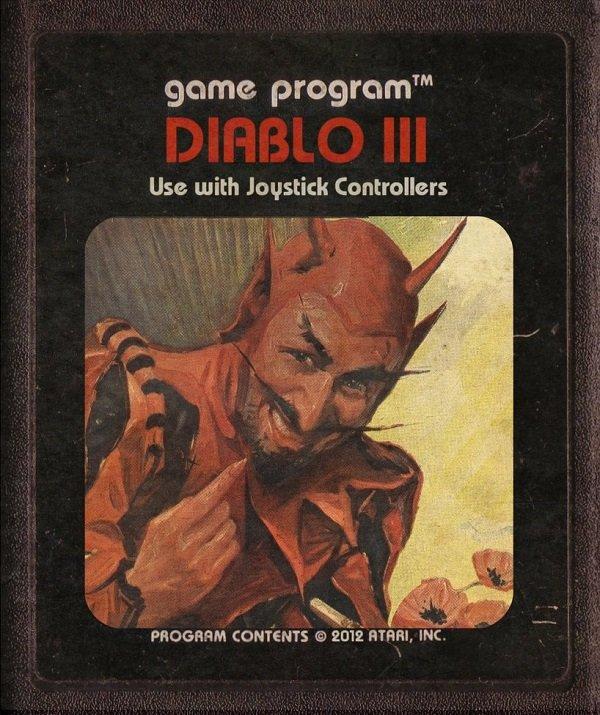 Jogos modernos em versões cartuchos de Atari  (9)