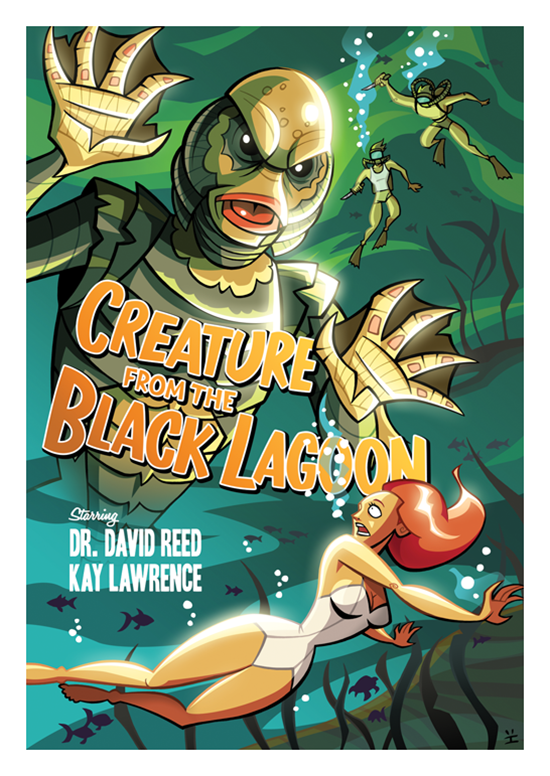Posters de filmes cartoonizados (10)