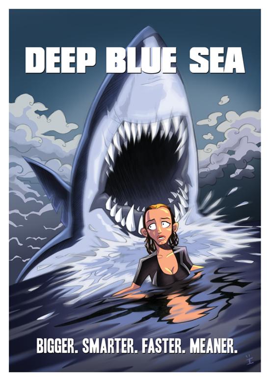 Posters de filmes cartoonizados (11)