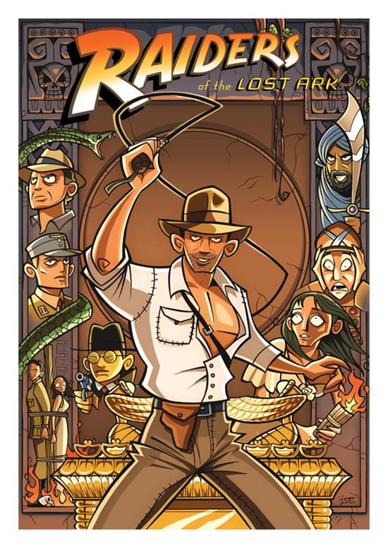 Posters de filmes cartoonizados (13)