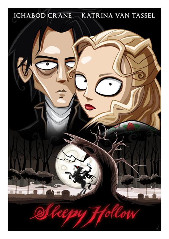 Posters de filmes cartoonizados (15)