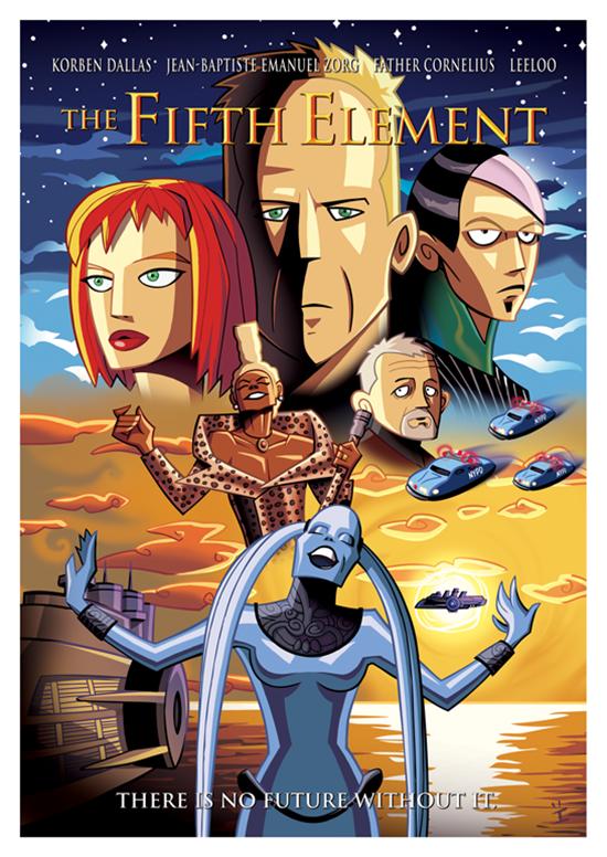 Posters de filmes cartoonizados (17)