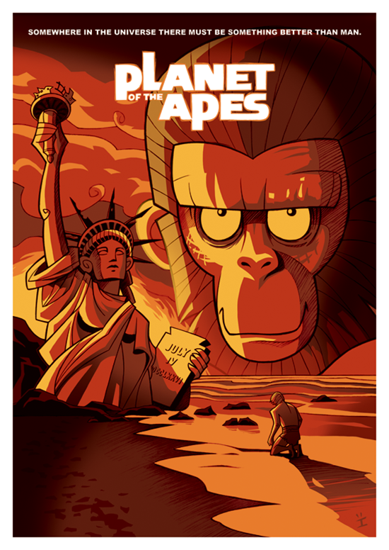 Posters de filmes cartoonizados (2)