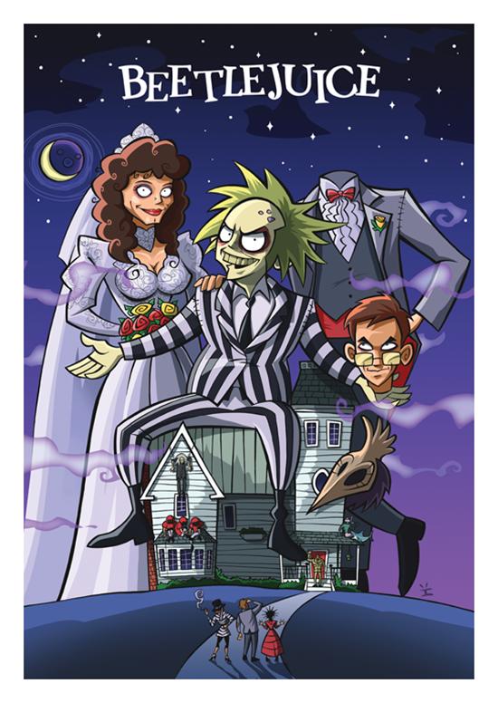 Posters de filmes cartoonizados (4)