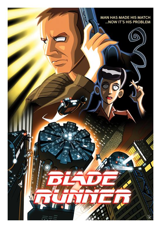 Posters de filmes cartoonizados (5)