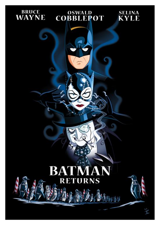 Posters de filmes cartoonizados (8)