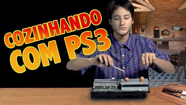 Cozinhando com o Playstation