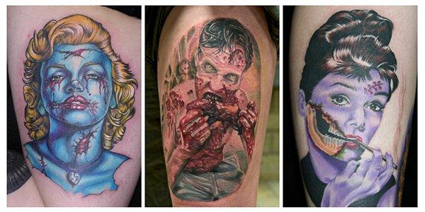 Tatuagens de zumbis (1)