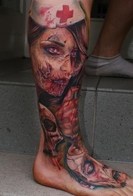 Tatuagens de zumbis (2)