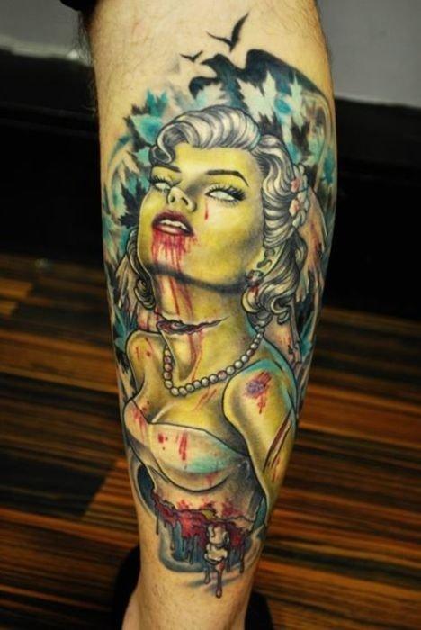 Tatuagens de zumbis (22)