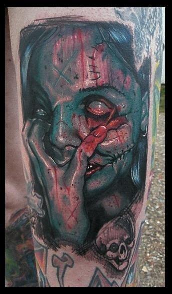 Tatuagens de zumbis (28)