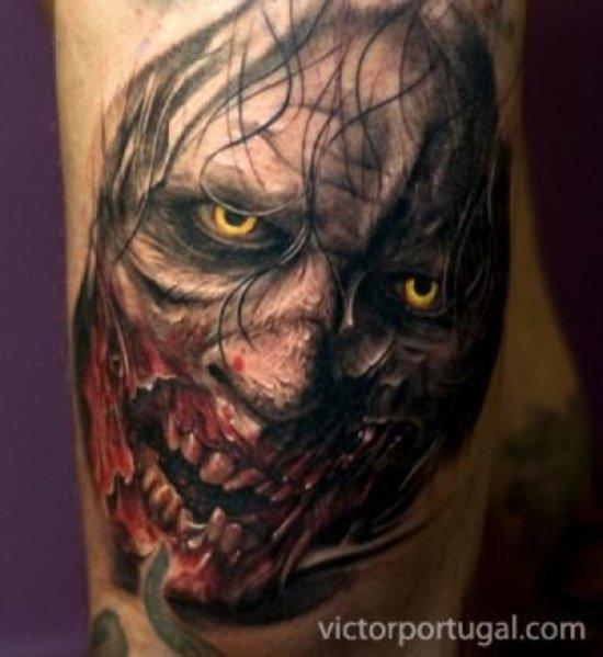 Tatuagens de zumbis (4)