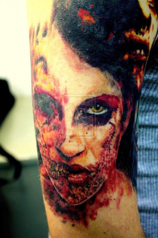 Tatuagens de zumbis (6)