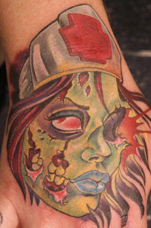Tatuagens de zumbis (9)