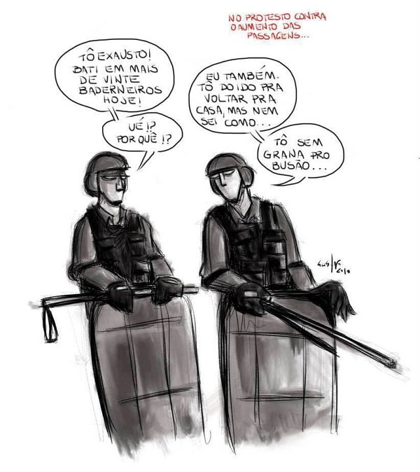 charge policia