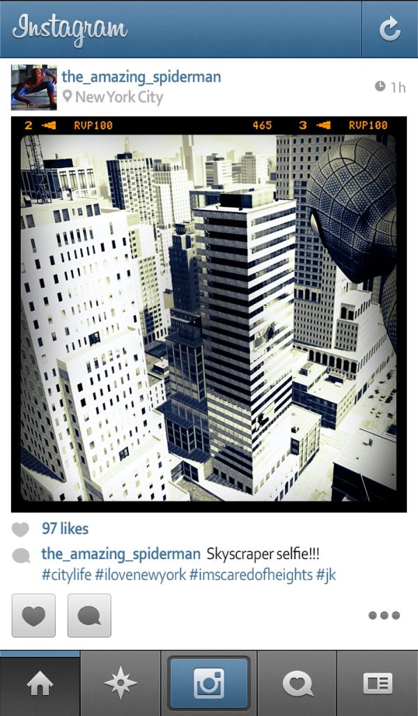 E se os super-heróis usassem Instagram (2)