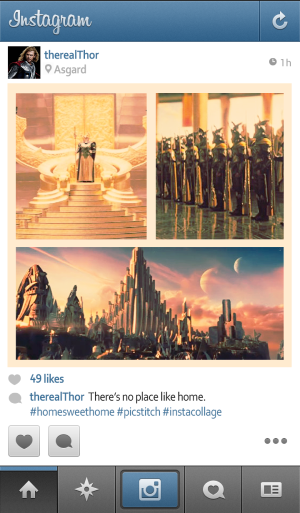 E se os super-heróis usassem Instagram (4)