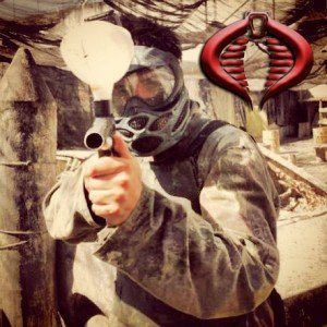 Adan Gi Joe paintball