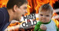 Homem vs Criança
