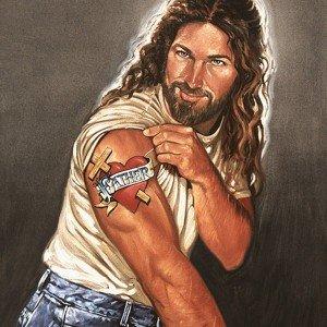Jesus sarado