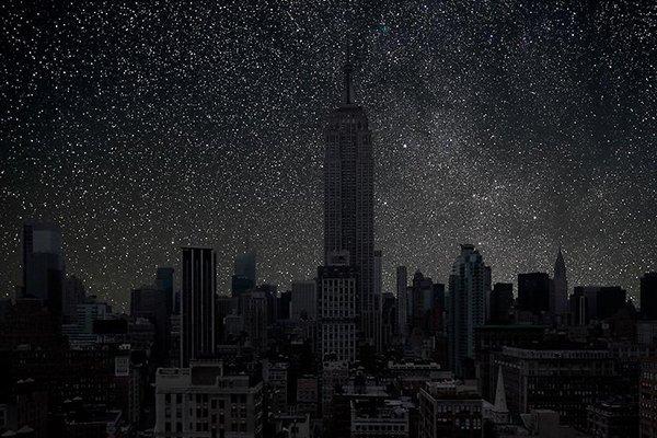 Poluição iluminosa - New York