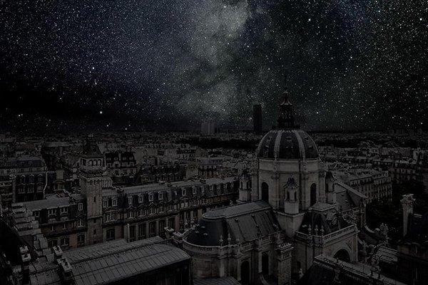 Poluição iluminosa - Paris (2)