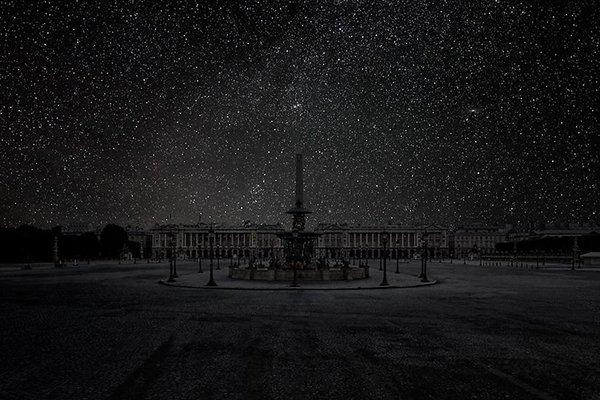 Poluição iluminosa - Paris