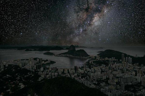 Poluição iluminosa - Rio