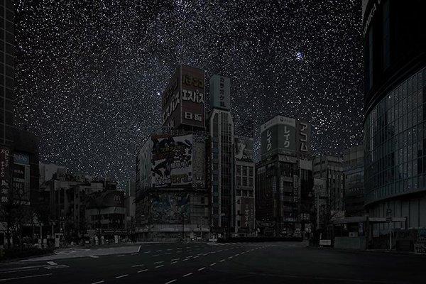 Poluição iluminosa - Tokyo