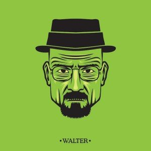 Retrato dos personagens de Breaking Bad 3