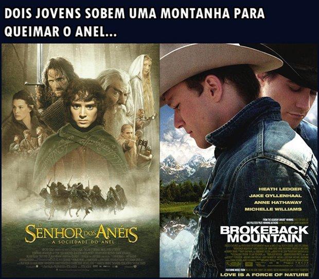 Filmes idênticos resumidos em uma frase