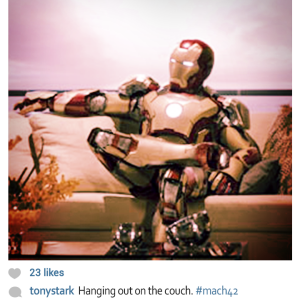 E se os super heróis usassem Instagram 5