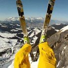 GoPro Avalanche Cliff Jump with Matthias Giraud