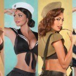 Pin ups no exercito