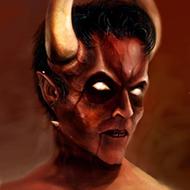 Quando até o demônio pede dízimo é pq a coisa tá feia