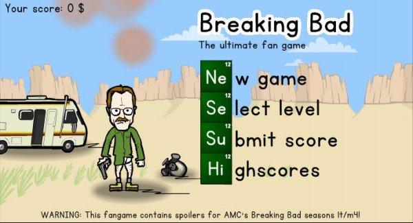 Breaking Bad – Jogo da semana