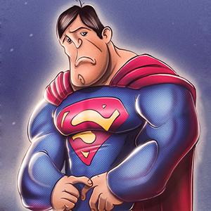 Super herói da depressão