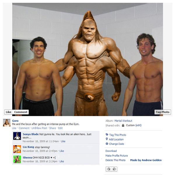 Até os personagens dos video games estão no facebook (1)