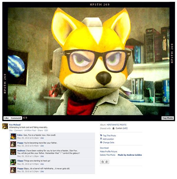 Até os personagens dos video games estão no facebook (4)