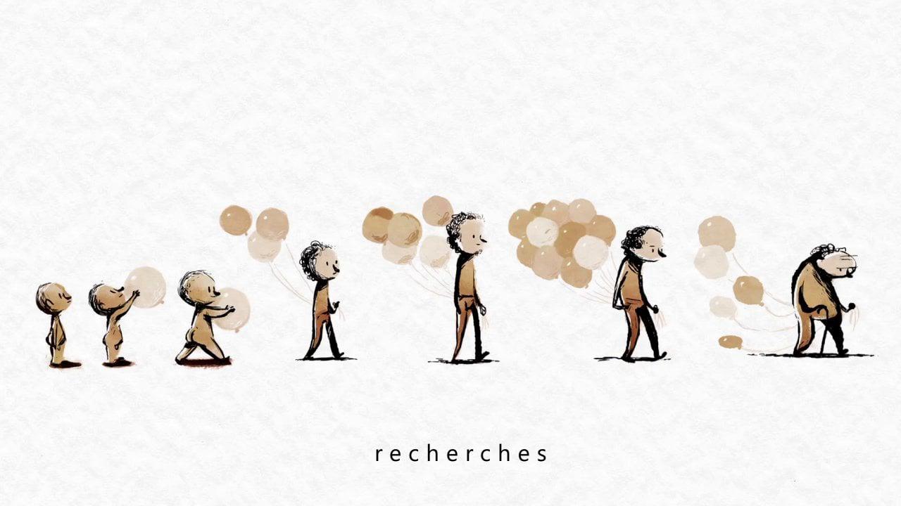 [Curta Animado] Balões de lembranças