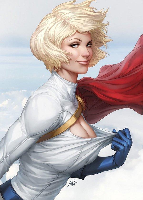 Em caso de perigo, chame uma Super Heroína!